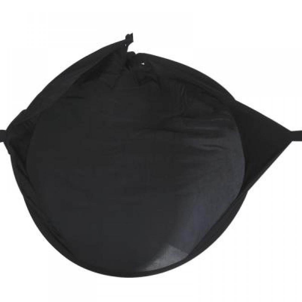 SOZZY BABY RAYSHADE STROLLER SUN SHADE COVER (BLACK) -