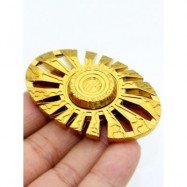 image of SUN GOD CUT OUT FINGER GYRO HAND SPINNER -