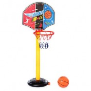 image of LARGE ADJUSTABLE BASKETBALL STAND OUTDOOR SPORT SET CHILD CHRISTMAS TOY WITH INFLATOR PUMP (COLORMIX) One Size