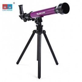 image of CHN AOHUA 3341 CHILD SCIENCE EDUCATION ASTRONOMY TELESCOPE TOY (COLORMIX) 0