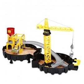 image of WY205 CONSTRUCTION SITES WITH DIECAST PLAY SET GARAGE TOYS (COLORMIX) 0