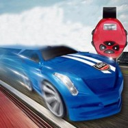 image of WATCH MAGIC CAR ELECTRIC TOYS (BLUE) 0