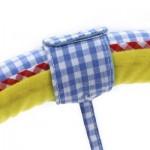 SOZZY STROLLERS CAR CLIP LATHE STRAP TOY (BLUE) -