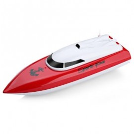 image of 802 REMOTE CONTROL YACHT MODEL SHIP SAILING ELECTRIC TOY (RED) -