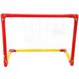image of WTWY KIDS SOCCER GOAL SET OUTDOOR SPORTS GAME TOY (COLORMIX) -