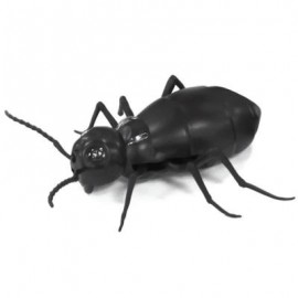 image of INFRARED REMOTE CONTROL REALISTIC FAKE COCKROACH RC PRANK TOYS INSECTS JOKE SCARY TRICK (BLACK) 0