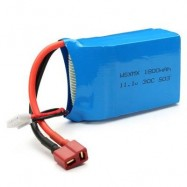 image of QAV250 ZMR250 GE260 WSX - S03 T-PLUG 11.1V 30C 1800MAH BATTERY RC MULTIROTOR SPARE PART (BLUE) -