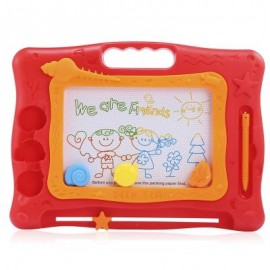 image of KIDS MAGIC DRAW SKETCH TABLET BOARD TOY CHRISTMAS PRESENT WITH PEN (COLORMIX) One Size