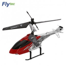 image of FLYTEC TY909T 2-CHANNEL INFRARED REMOTE CONTROL HELICOPTER (RED) 0
