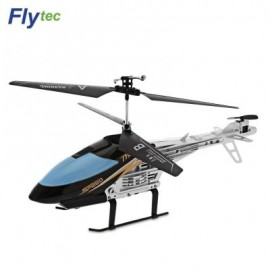 image of FLYTEC TY909T 2-CHANNEL INFRARED REMOTE CONTROL HELICOPTER (BLACK) 0