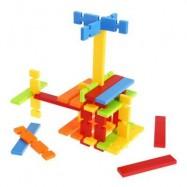 image of 50PCS CHILDREN COLORFUL BUILDING BLOCK BRICKS EDUCATIONAL TOY SET (COLORMIX) -