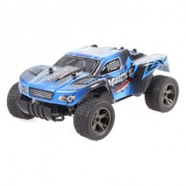 image of JULE UJ99 - 2812B 2.4GHZ 1:18 RC CAR RTR 20KM/H / SHOCK ABSORBER / IMPACT-RESISTANT PVC SHELL (BLUE) 0