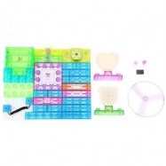 image of YSGO YS2961 INTEGRATED ELECTRONIC CIRCUIT BUILDING BLOCKS KIT PHYSICS LEARNING DEVELOPMENT TOY (COLORMIX) -