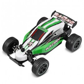 image of YL - 09 1:18 2.4GHZ HIGH SPEED RADIO CONTROL RACING CAR (GREEN) 0