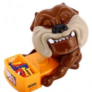 image of BEWARE OF THE BULLDOG BOARD GAMES CHILDREN NOVELTY FUNNY TOYS (BROWN) -