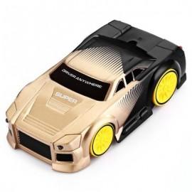 image of FY828 REMOTE CONTROL INTELLIGENT CAR FOR KIDS (GOLDEN) -