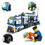 9316 KIDS ADULT EDUCATIONAL TOY BUILDING BRICKS POLICE SERIES BLOCKS ASSEMBLED GIFT (COLORMIX) 42.50 x 28.50 x 7.50 cm