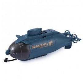 image of 777 - 216 WIRELESS 40MHZ REMOTE CONTROL MINI SUBMARINE PIGBOAT MODEL TOY (SAPPHIRE BLUE) -