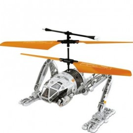 image of ATTOP IDR902 RC HELICOPTER WITH HIGH POWER MOTER / 6 - AXIS GYROSCOPE / BUFFER TAXIING WHEEL (GRAY) 0