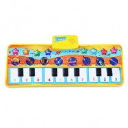 image of ZHONGZE TOYS KIDS INSTRUMENT PIANO CARPET WITH MUSIC (COLORMIX) One Size