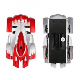 image of MINI WALL CEILING GLASS CLIMBING REMOTE CONTROL CAR TOY (RED) 0