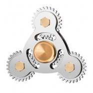 image of STRESS RELIEF TOY SPINNING TOY GEARS FINGER HAND SPINNER -
