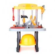 image of RANXIAN LUXURY SIMULATION REPAIR BUILDER TOOLS KIT FOR KIDS (YELLOW) -