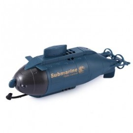 image of 777 - 216 WIRELESS 40MHZ REMOTE CONTROL MINI SUBMARINE PIGBOAT MODEL TOY 12.500 x 3.500 x 4.500 cm