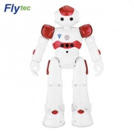 image of FLYTEC FQ4005 GESTURE CONTROL INFRARED INTELLIGENT RC ROBOT (RED) 0