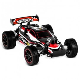 image of JULE 23211 1:20 BRUSHED RC CAR RTR SPLASHPROOF / 2.4GHZ 2WD / IMPACT-RESISTANT PVC SHELL (RED) -