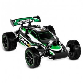 image of JULE 23211 1:20 BRUSHED RC CAR RTR SPLASHPROOF / 2.4GHZ 2WD / IMPACT-RESISTANT PVC SHELL (GREEN) -