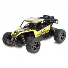 image of JULE UJ99 - 1815B 2.4GHZ 1:18 RC CAR RTR 20KM/H / SHOCK ABSORBER / IMPACT-RESISTANT PVC SHELL (YELLOW) -