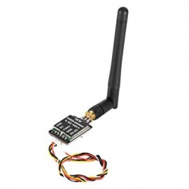 image of 25 - 600MW 5.8G 48CH 2S - 6S FPV VIDEO AUDIO TRANSMITTER (BLACK) -