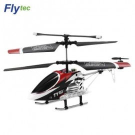 image of FLYTEC TY901 3.5-CHANNEL INFRARED REMOTE CONTROL HELICOPTER (RED) 0