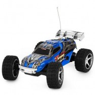 image of NO.2019 REMOTE CONTROL RACING CAR WITH 5 SPEED TRANSMISSION AND FLASHING LIGHT (BLUE) -