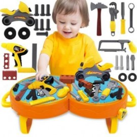 image of HOUSE CHILDREN SIMULATION TOOL SUITCASE TOY (COLORMIX) 0