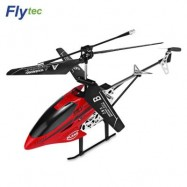 image of FLYTEC TY911T 3.5-CHANNEL INFRARED REMOTE CONTROL HELICOPTER (RED) 0