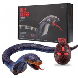 image of SCARY SNAKE INFRARED REMOTE CONTROLLED TOY (DEEP PURPLE) 0