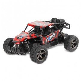 image of JULE UJ99 - 2815B 2.4GHZ 1:18 RC CAR RTR 20KM/H / SHOCK ABSORBER / IMPACT-RESISTANT PVC SHELL (RED) -