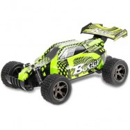 image of JULE UJ99 - 2810B 2.4GHZ 1:18 RC CAR RTR 20KM/H / SHOCK ABSORBER / IMPACT-RESISTANT PVC SHELL (GREEN) -