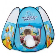image of NUKIED CHILDREN CARTOON HONEYBEE PATTERN TENTS (BLUE) 0