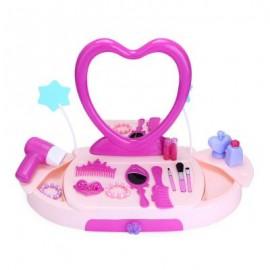 image of BOWA 19PCS BABY KIDS MAKEUP TOOLS BOX MINI SIMULATION EDUCATIONAL TOY 51.00 x 50.00 x 8.00 cm