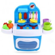 image of JD 24PCS LUXURY SIMULATION KITCHEN TOOLS BOX FOR BABY KIDS (COLORMIX) -