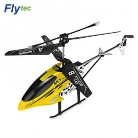 image of FLYTEC TY911T 3.5-CHANNEL INFRARED REMOTE CONTROL HELICOPTER (YELLOW) 0