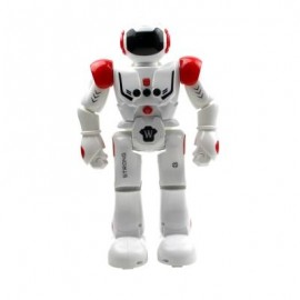 image of UTOGHTER HT9930 - 1 SMART ROBOT GESTURE CONTROL MODE / INTELLECTUAL PROGRAMMING / MUSIC + LIGHT (RED) 0