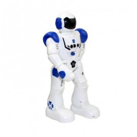image of UTOGHTER HT9930 - 1 SMART ROBOT GESTURE CONTROL MODE / INTELLECTUAL PROGRAMMING / MUSIC + LIGHT (BLUE) 0