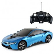 image of RASTAR BMW I8 REMOTE-CONTROLLED RACING CAR TOYS DEFORMATION MODE REMOTE CONTROL TO OPEN THE DOOR 59200 (BLUE) 0