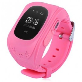 image of Q50 RUSSIAN VERSION CHILDREN SAFETY MONITORING GPS INTELLIGENT WATCH TELEPHONE (PINK) RUSSIAN VERSION