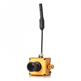 image of LST - S1 AIO 800TVL CMOS MINI FPV CAMERA WITH 5.8G 40CH 25MW VTX 3DBI WHIP ANTENNA (ROSE GOLD) -