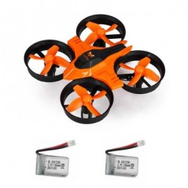 image of F36 MINI 2.4GHZ 4CH 6 AXIS GYRO RC QUADCOPTER WITH HEADLESS MODE / SPEED SWITCH (ORANGE) WITH TWO BATTERIES